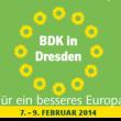 Banner BDK 7.-9.Februar 2014 in Dresden